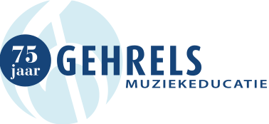 Logo Gehrels Muziekeducatie 75 jaar