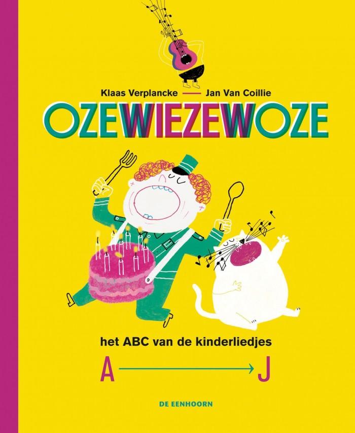 cover van de nieuwe uitgave van het liedjesboek Ozewiezewoze (dl. 1)