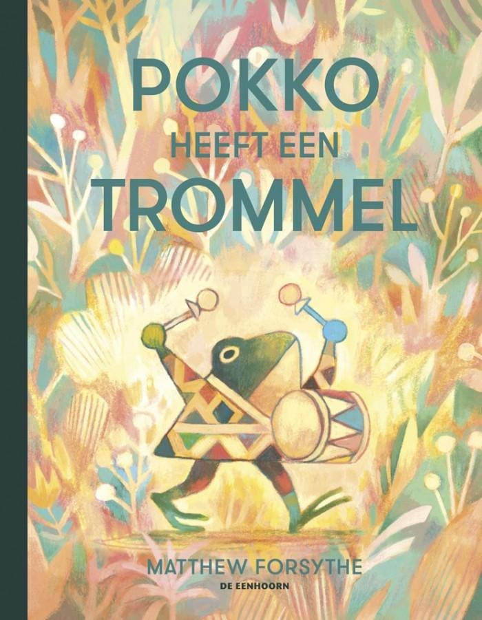 cover van het prentenboek 'Pokko heeft een trommel'