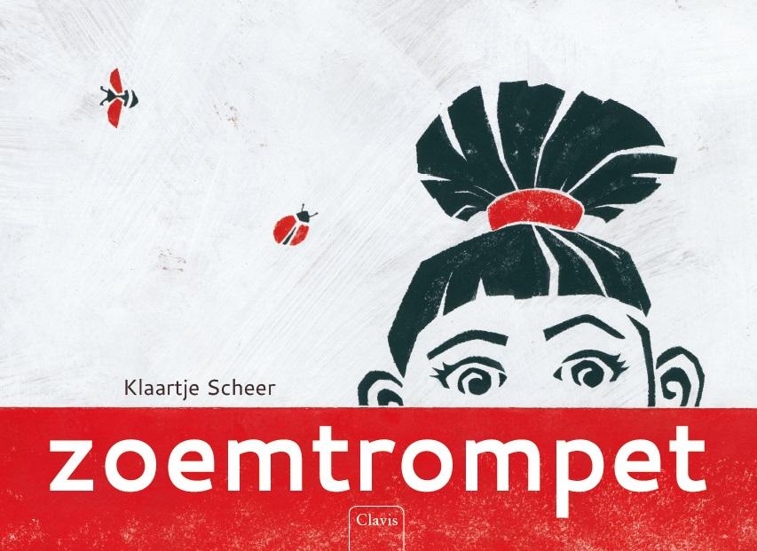 cover van 'Zoemtrompet', prentenboek van Klaartje Scheer