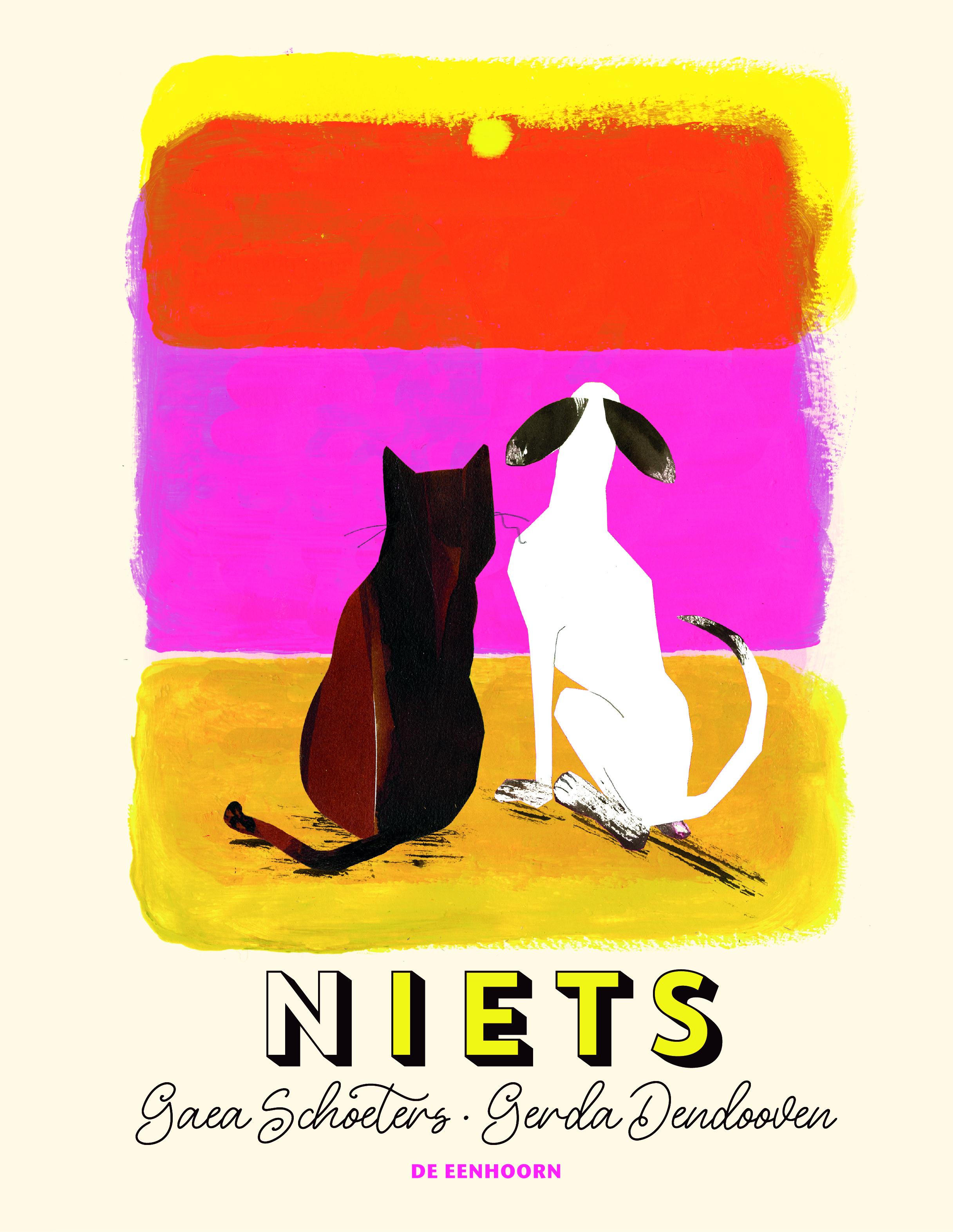 coverafbeelding van N-Iets. Illustratie Gerda Dendooven