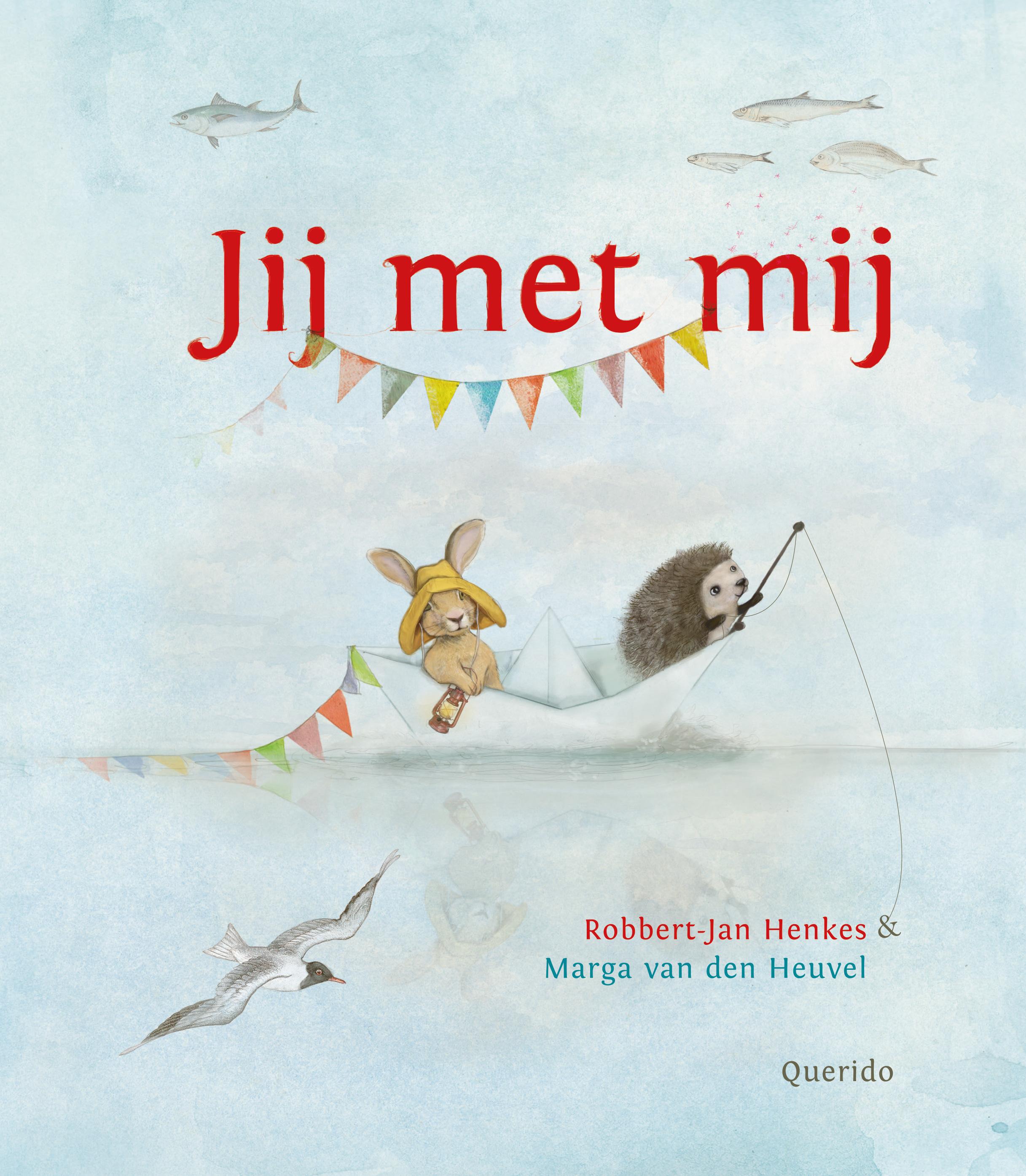 cover van het boek Jij met mij, van Robbert-Jan Henkes