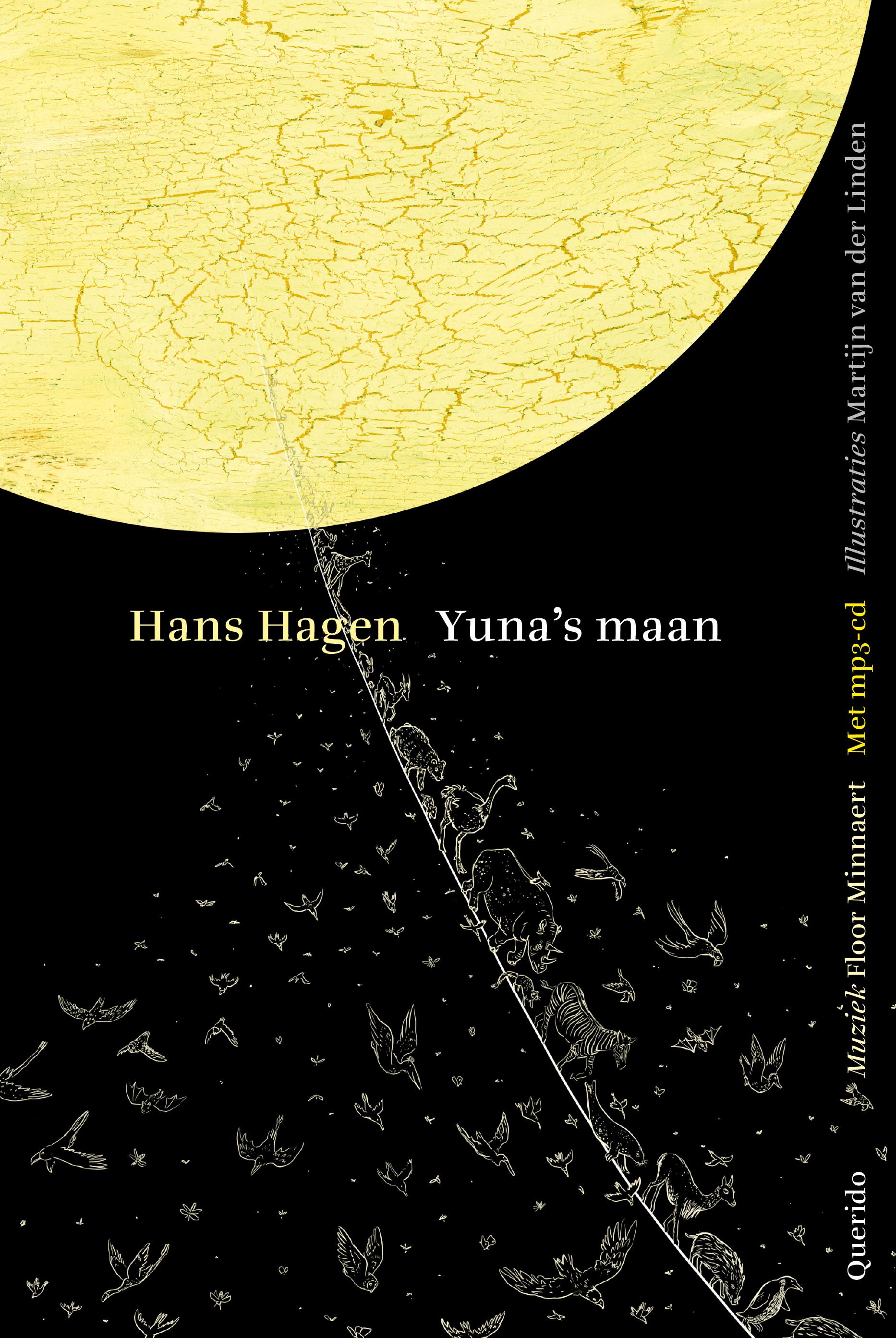 cover van Yuna's maan, boek van Hans Hagen