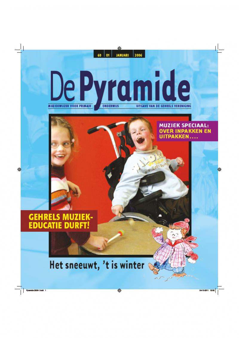 cover van De Pyramide, 60-01, januari 2006.