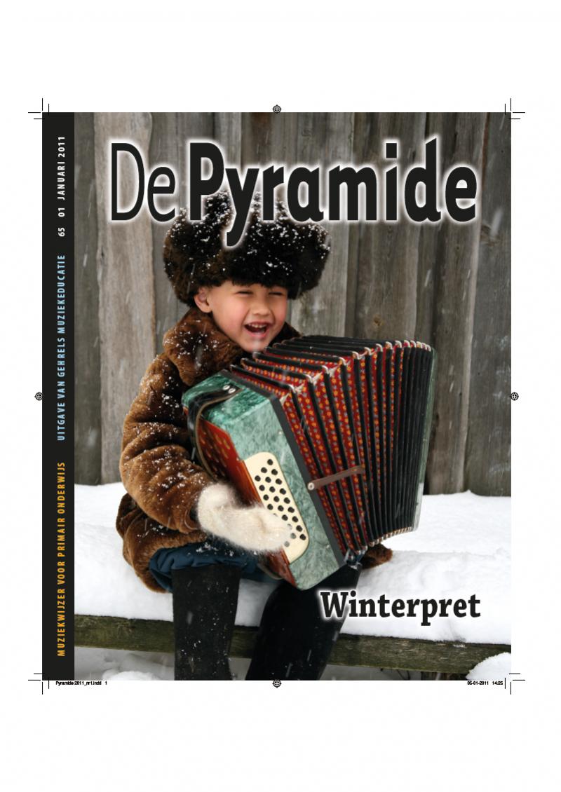 cover van De Pyramide, afl. 65-01, januari 2011