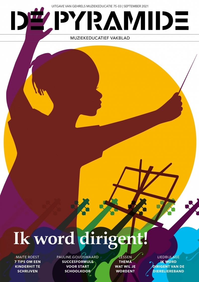 Pyramide 75-3 september 2021 cover illustratie Winneke Hazewinkel