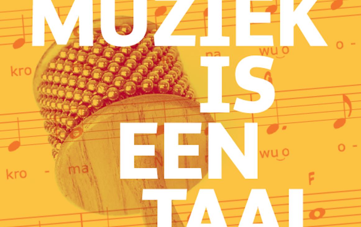 Cover Muziek is een Taal - Aslan Muziekcentrum