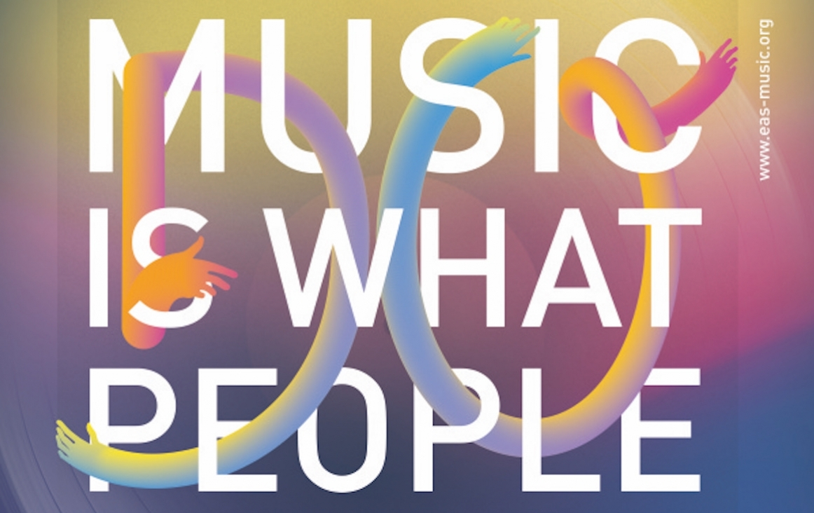 EAS poster Music is What People DO - 2021