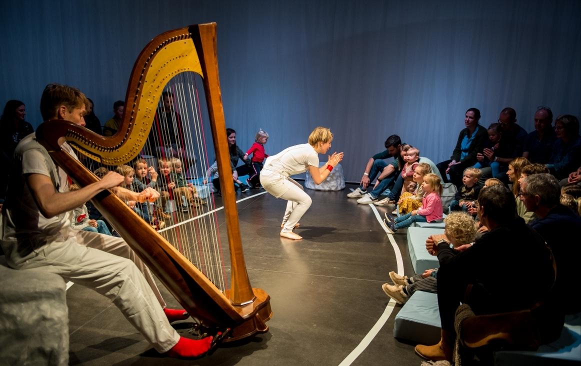 Sound Cradle nieuwe opleiding muziek met jonge kinderen foto ©Peter de Jongh