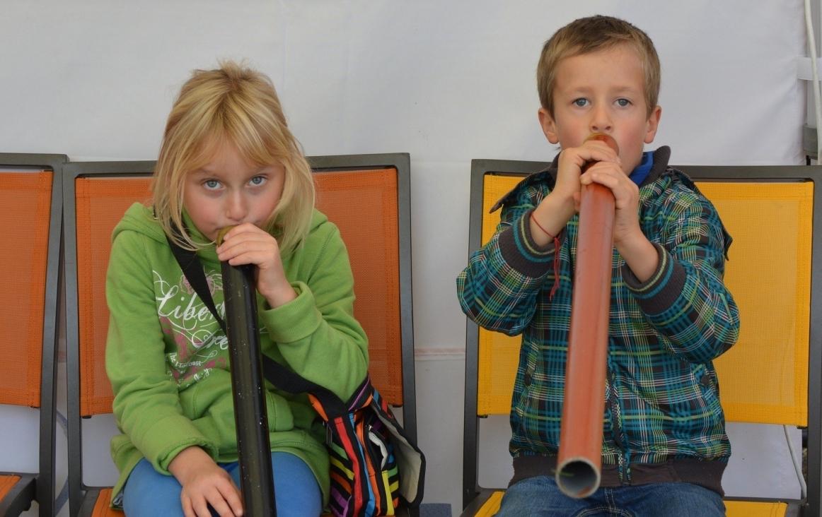 Kinderen in muziekles. Foto Ben Kerckx, Pixabay