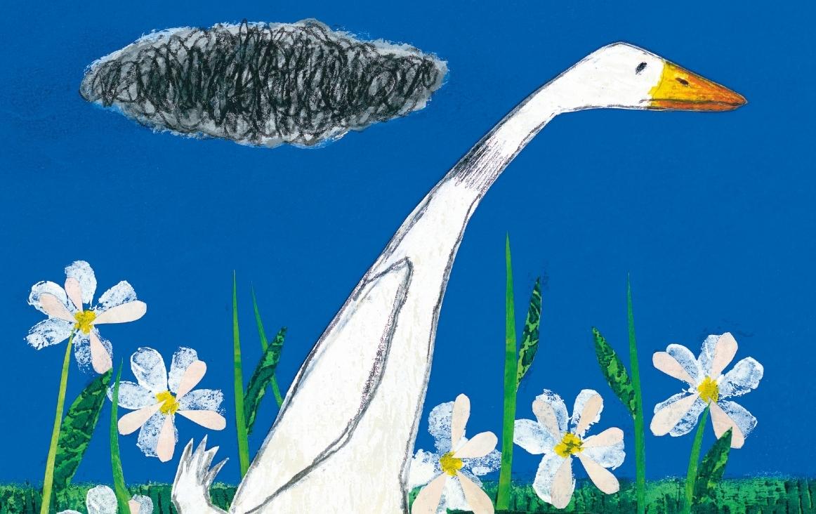 cover van Moppereend (fragment), illustratie van Petr Horácek