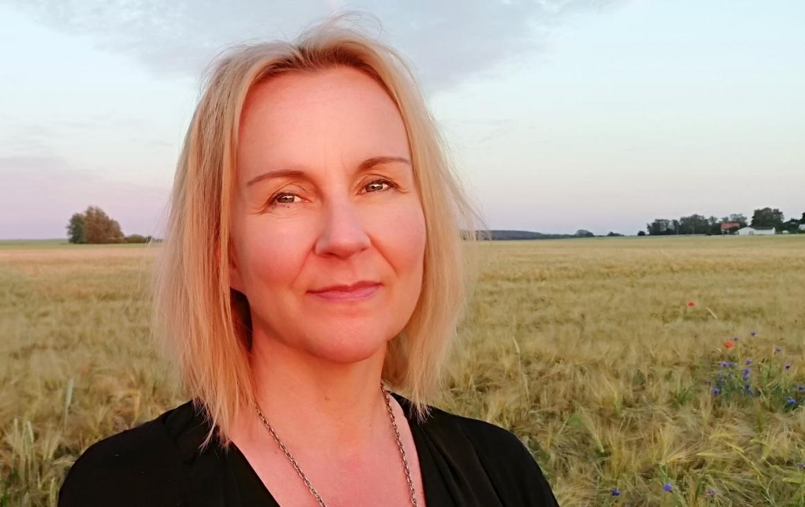 Tanja Lagerström. Tanja geeft muziekles in Zweden