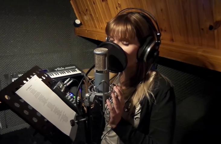 Still uit YouTube video van Yvar: Bewerk je stem tot in perfectie'