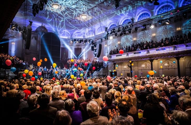 Nederlands Blazers Ensemble Nieuwjaarsconcert 2019. Foto Peter Lodder