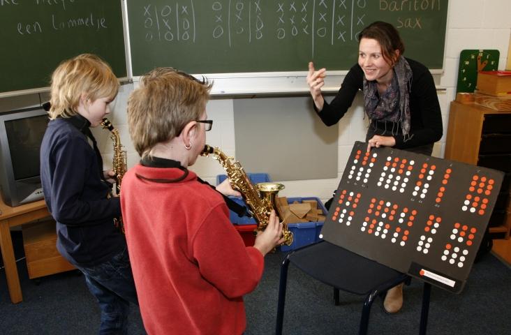 Hein en Annemarieke ontwikkelden een speelsysteem.