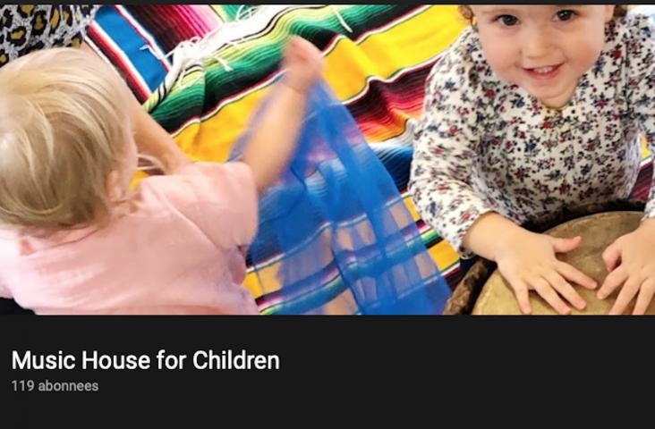 YouTubekanaal Music House for Children