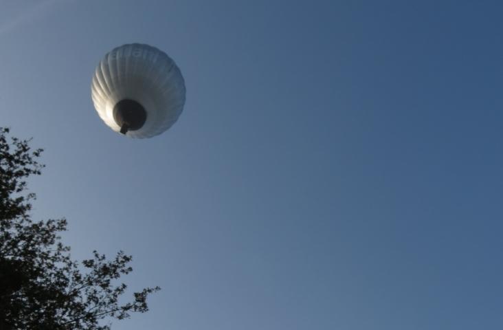Ballonvaart. Foto E. Smulders