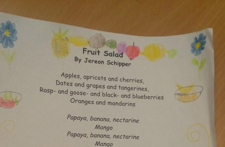 De tekst van 'Fruit Market', lied van Jeroen Schipper