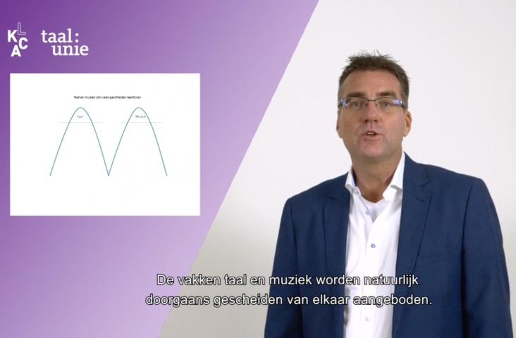 LKCA video met Michel Hogenes over taal en muziek